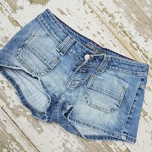 American Eagle short shorts